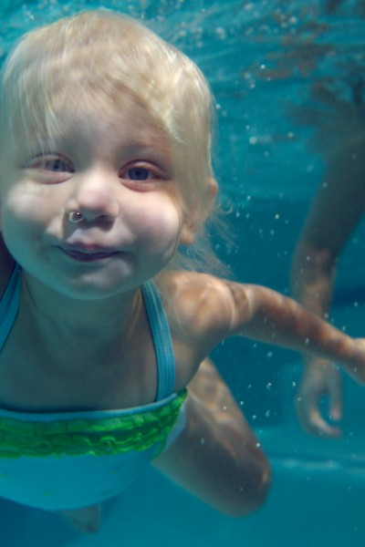 How Swim Lessons Help Visual, Spatial, and Audio Development