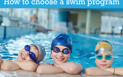 Things to look for when choosing a swim program