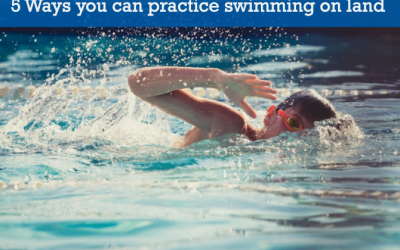 5 Ways you can practice swim lessons on land