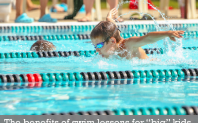 """The benefits of swim lessons for """"big"""" kids"""