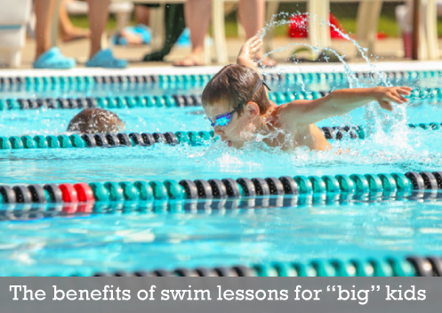 swim lessons for older kids