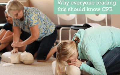 Why everyone reading this should know CPR