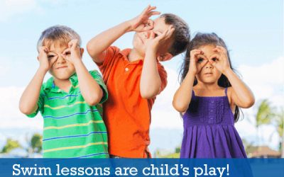 Swim lessons should be child's play!