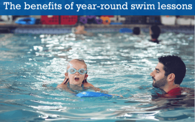 The benefits of staying in swimming lessons year round